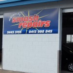 Maroochy Smash Repairs Shed Sign