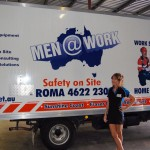 Men @ Work Fleet Signage