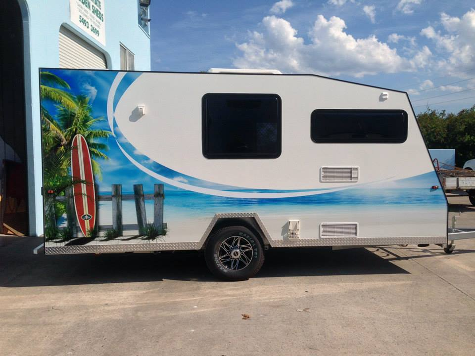 Caravan Design and Wrap - Ink to Image