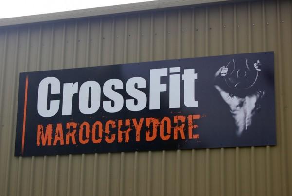 CrossFit Maroochydore Signage