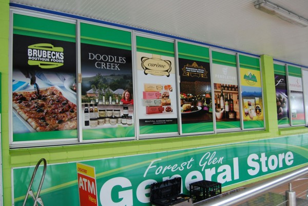 Forest Glen General Store Shop Front Windows