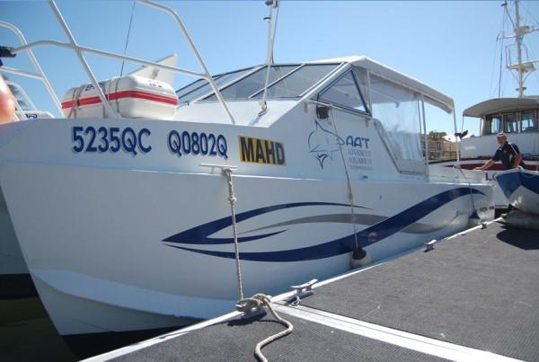 AAT Boat Signage