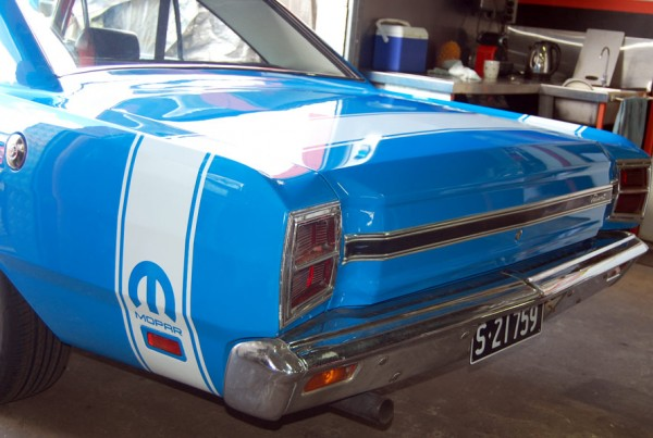 Mopar Valiant Stripes