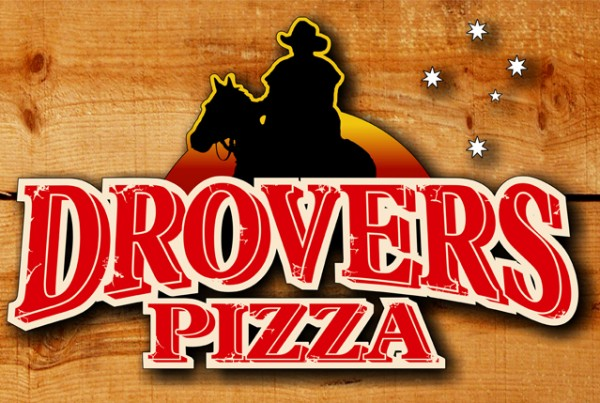 Drovers Pizza Sign
