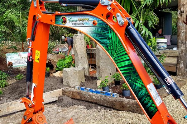 tropical-designs-landscaping-excavator-signage