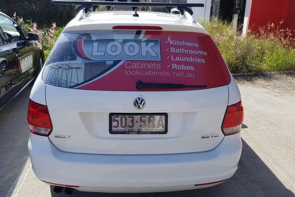 look cabinets car one way vision