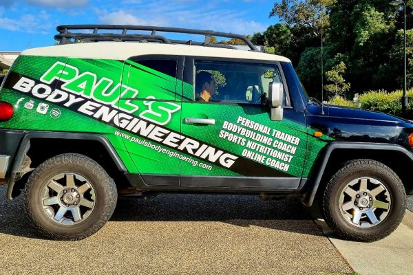Paul's Body Engineering Vehicle Signs