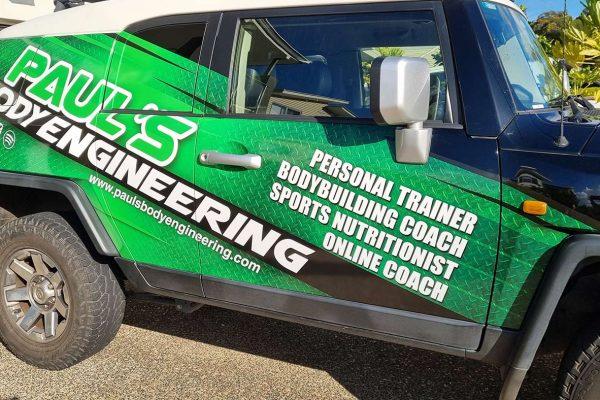 Paul's Body Engineering FJ Cruiser Signs